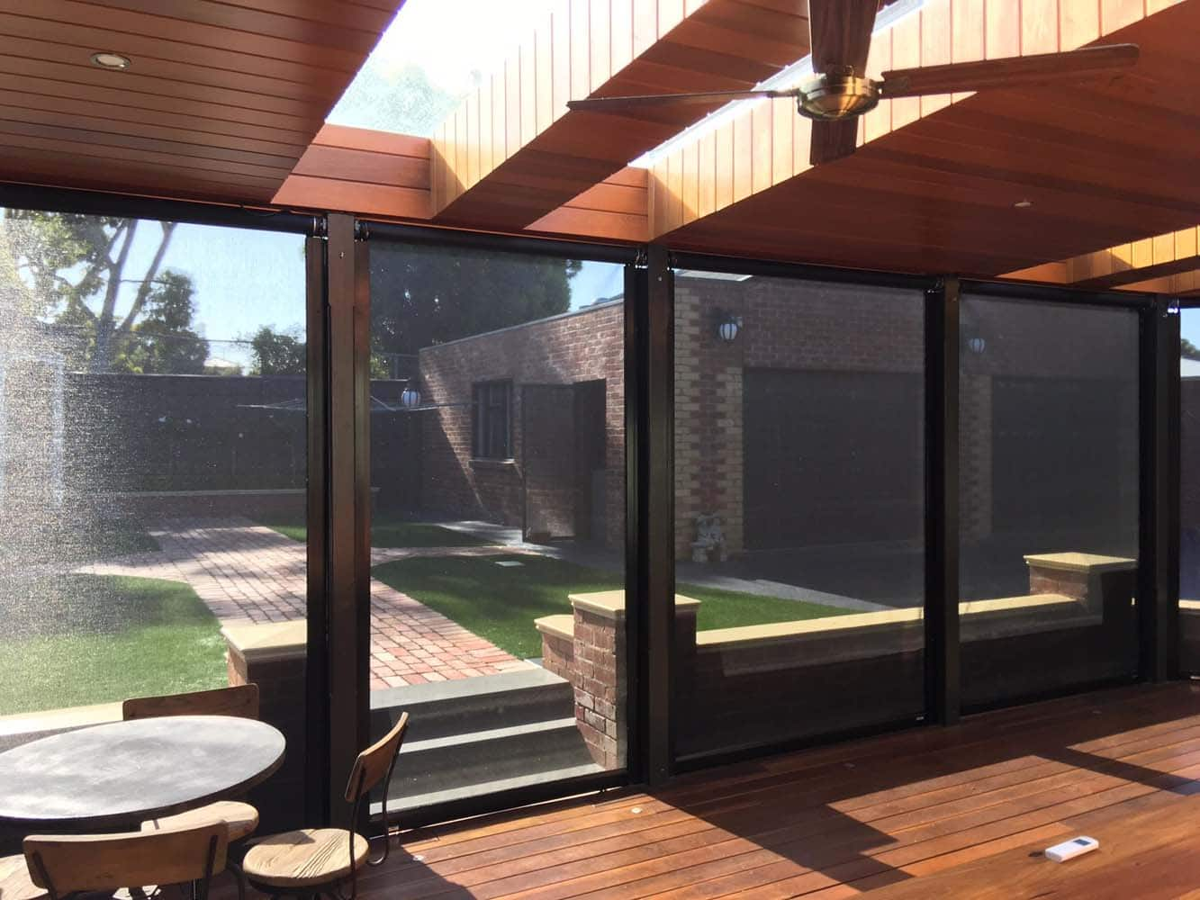 Mesh Blinds Melbourne Lifestyle Awnings