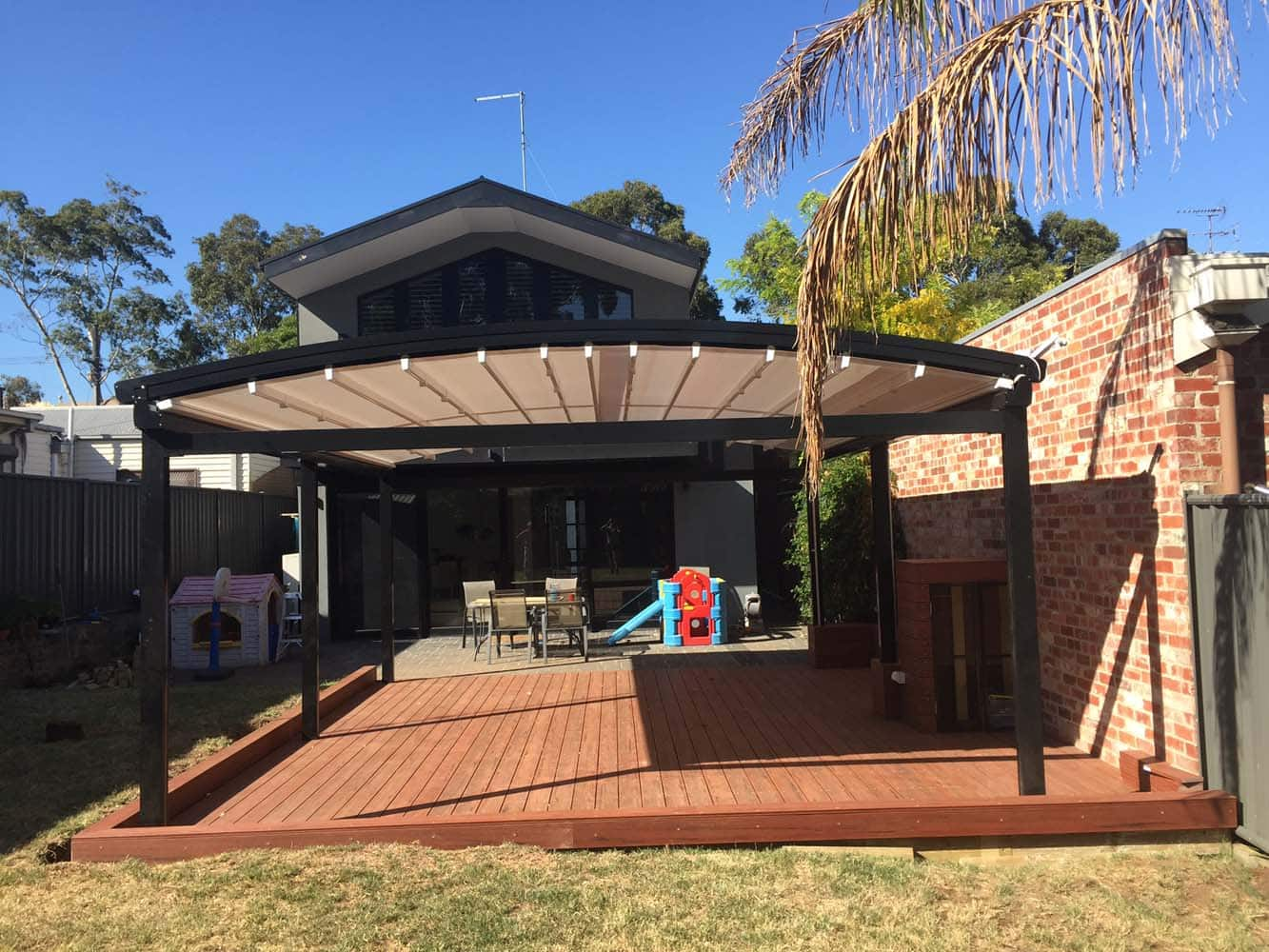 Motorised Awnings Melbourne Lifestyle Awnings And Blinds